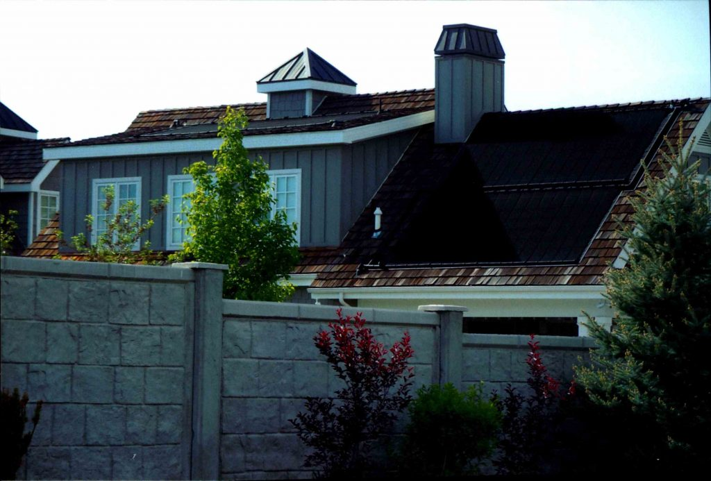 Backyard Pool Solar Pool Heating Installation