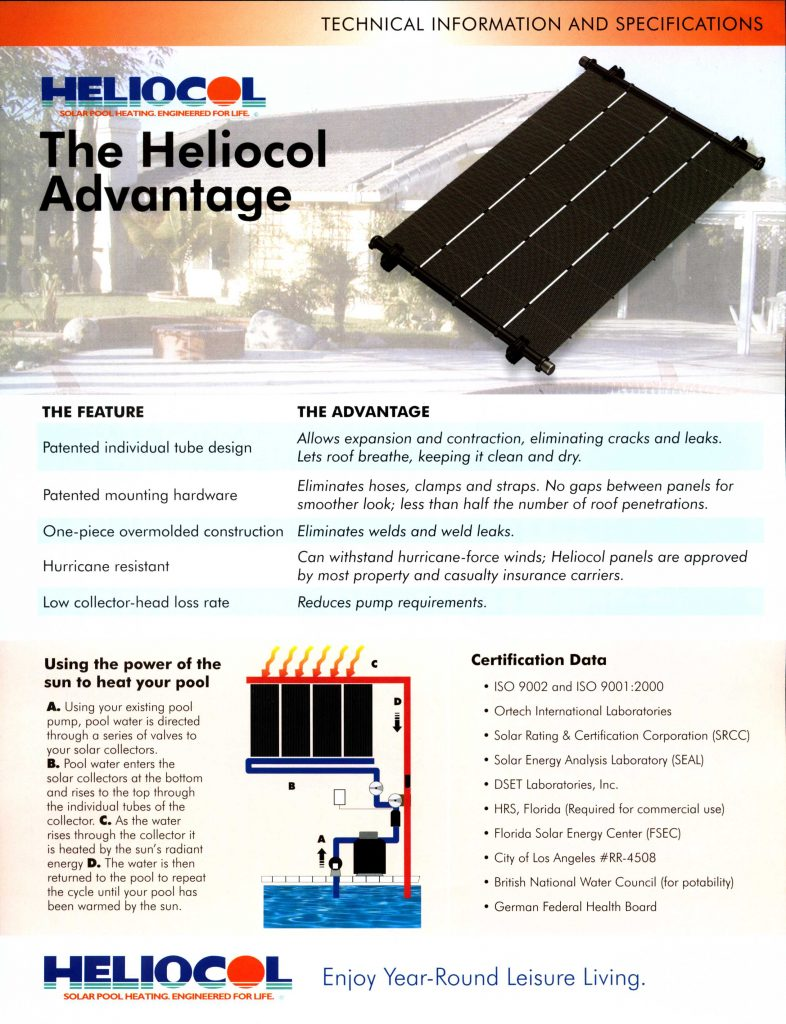 Heliocol Advantage