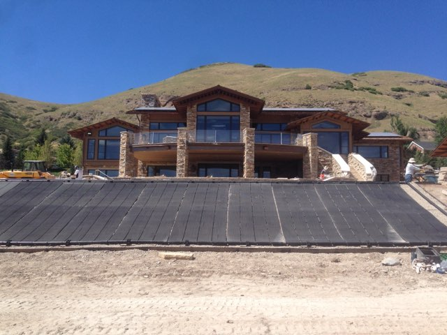 solar pool install salt lake